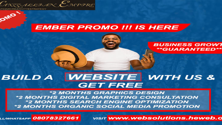 Just build a website and get the rest for free . Your business growth is guaranteed